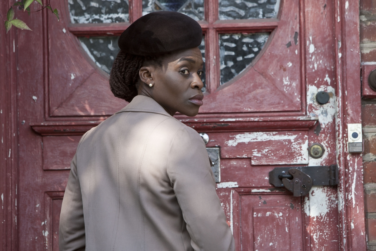 Image: Rakie Ayola in a scene from Silent Witness