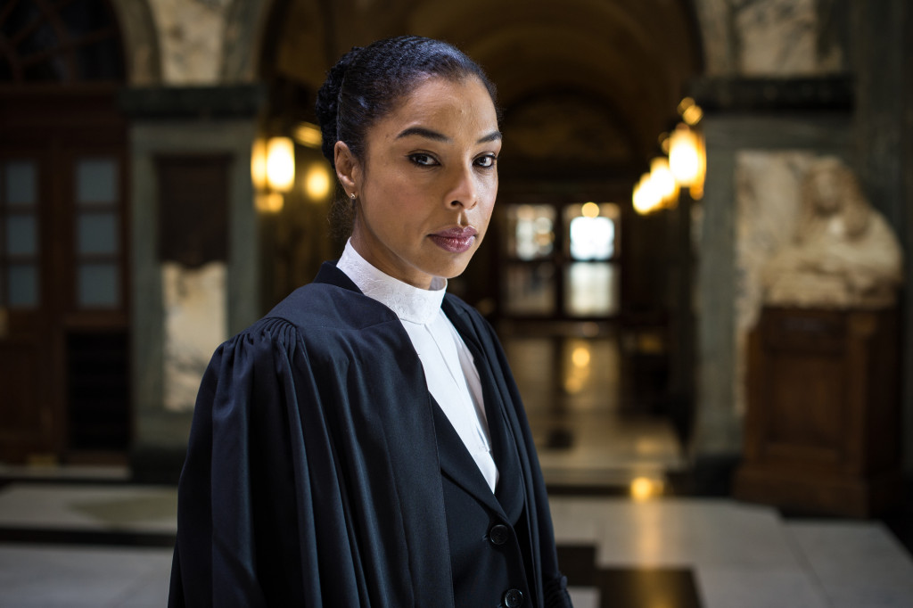Image: Sophie Okonedo in BBC's The Escape Artist