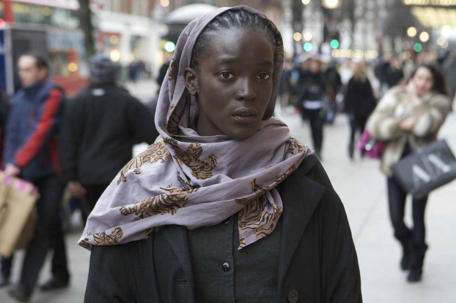 image: Wunmi Mosaku in a scene from Channel 4's 'I Am Slave'