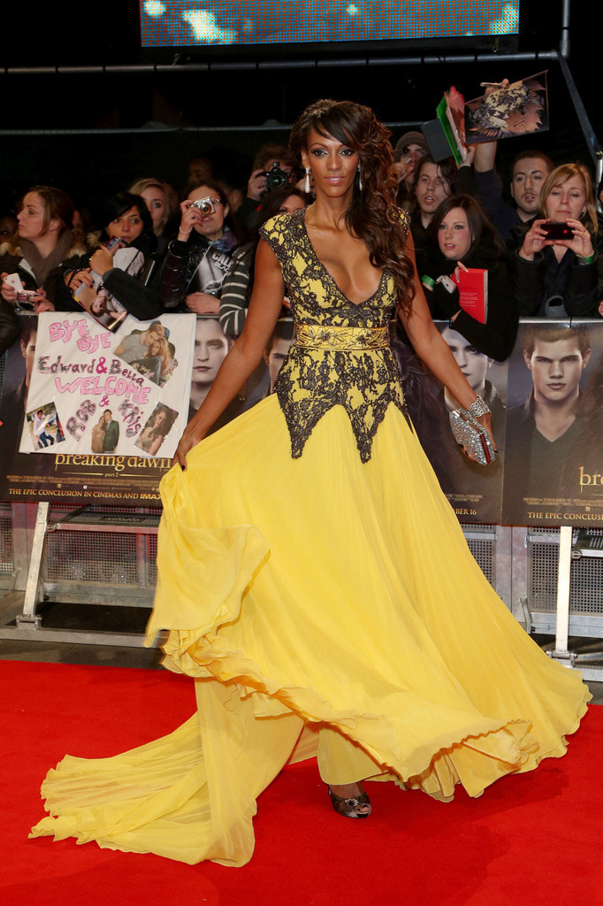 Judi Shekoni at the London Premeire of The Twilight Saga: Breaking Dawn