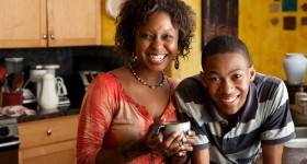 Black-mother-and-son