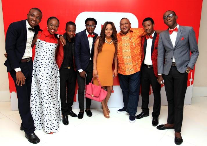YouTube content creators, Naija's Craziest, Ariyike Akinbobola, Toke Makinwa and Olisa Adibua