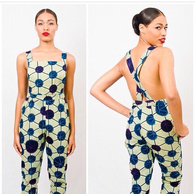 Ankara Overdose 35 Ankara Jumpsuit Styles Your Tailor Must See