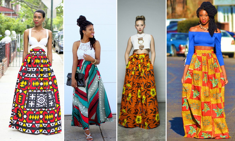 Ankara Overdose 34 Ways To Rock Ankara Maxi Skirts Woman Ng