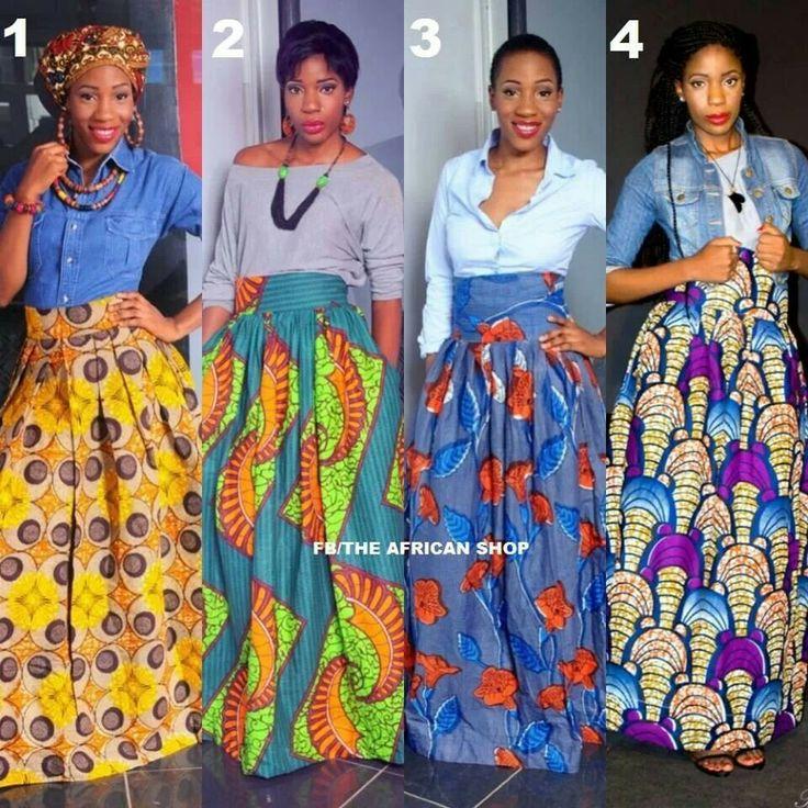 028ab48133de ANKARA OVERDOSE  34 Ways To Rock Ankara Maxi Skirts – Woman.NG