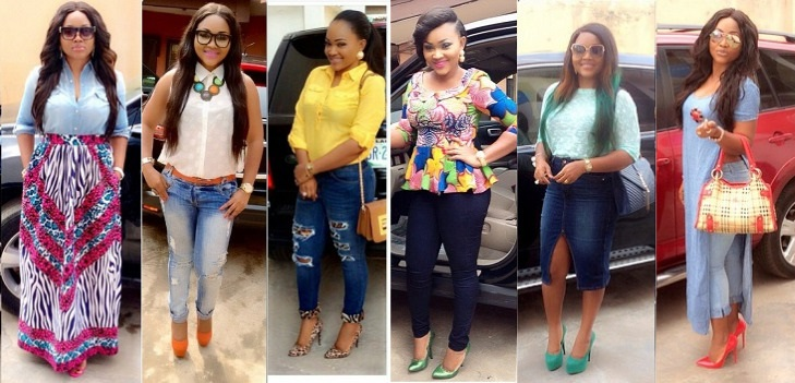 38 Times Mercy Aigbe Gentry Rocked Jean Ious Outfits Womanng