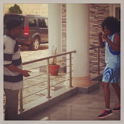 Funke-Akindele-Nkem-Owoh-on-set-4