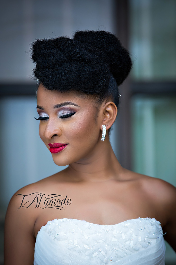 71 Natural Hairstyles Perfect For Your Naija Wedding Woman