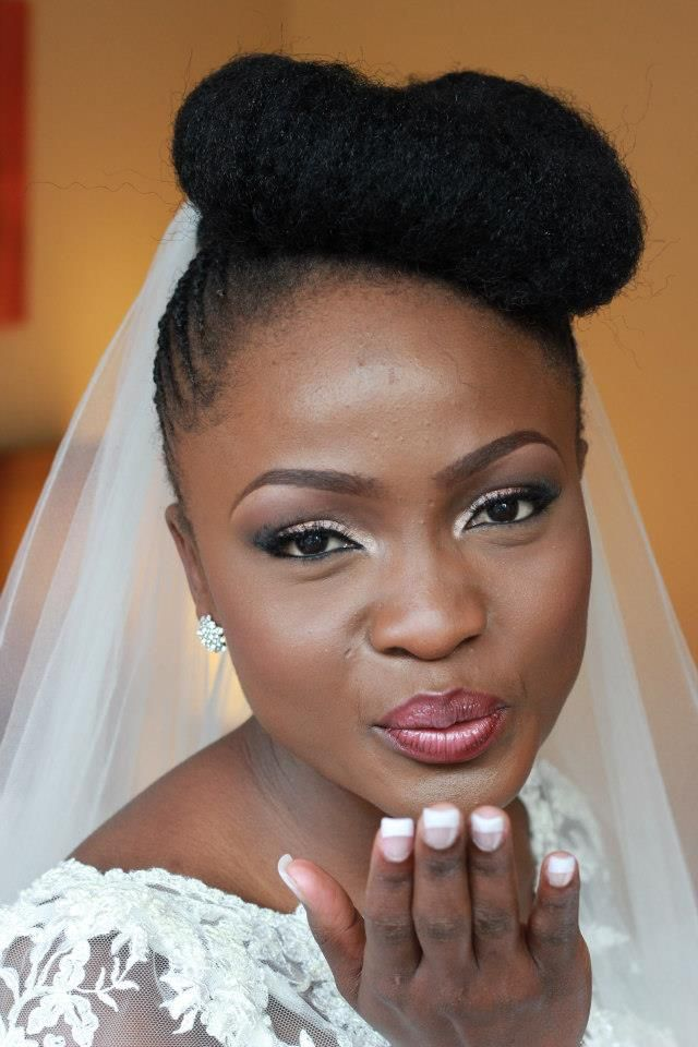 71 Natural Hairstyles Perfect For Your Naija Wedding Woman Ng