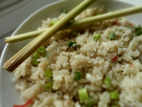 coconut rice thailand
