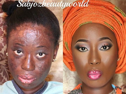 Black Before And After Makeup Meme - Mugeek Vidalondon