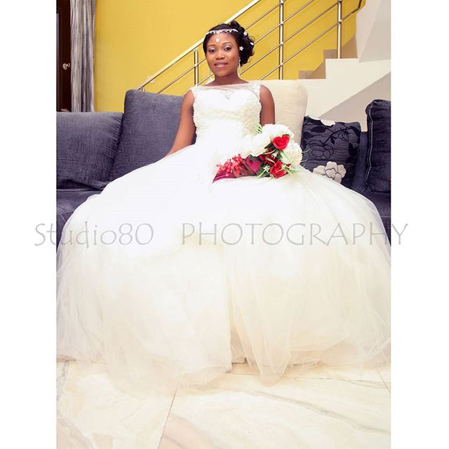 14 Beautiful Nigerian Celebrity Wedding Dresses Of 2015 – Woman.NG
