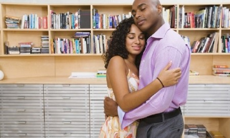 african-american-couple-hugging
