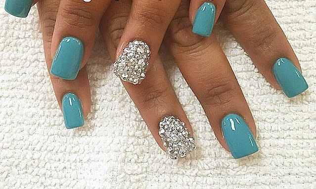 50 beautiful nail arts every bride to be should see woman every detail of a brides big day is always given special attention including her nails the nail design a bride wears on her wedding day should be prinsesfo Images