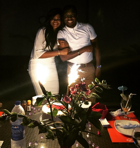 Timi Dakolo and wife 12