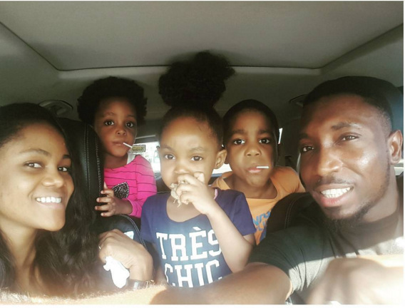 Timi Dakolo and wife 2