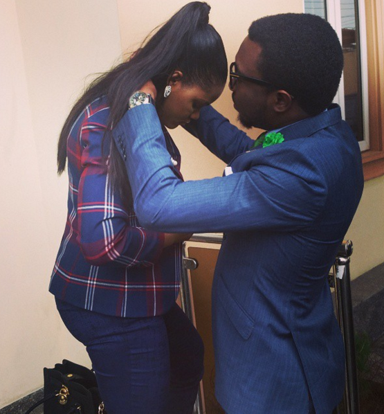 Timi Dakolo and wife 20
