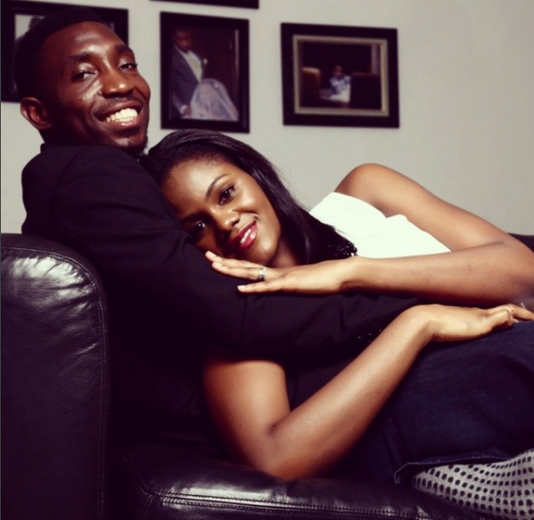 Timi Dakolo and wife-9