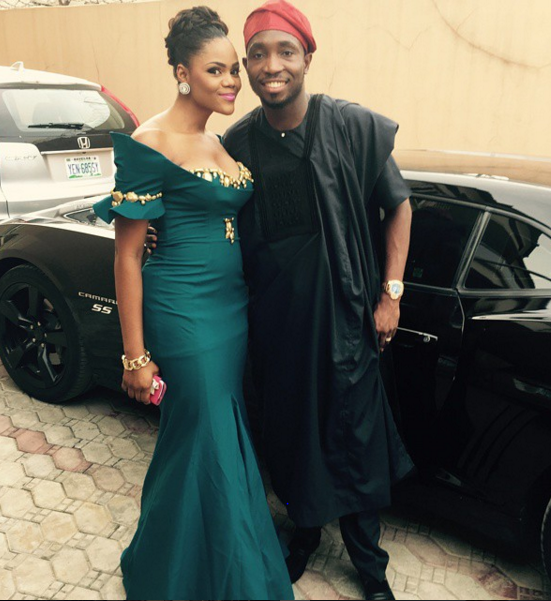 Timi Dakolo and wife 9