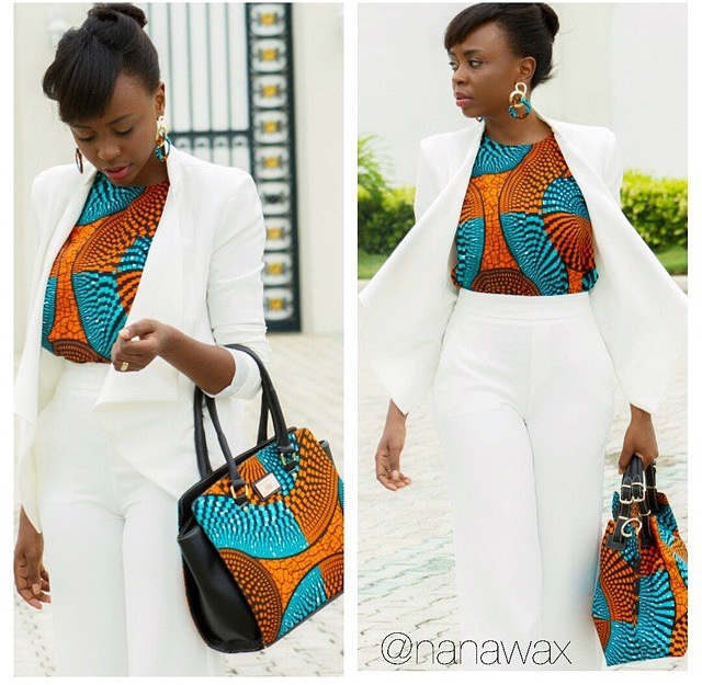 47 Easy Breezy Ankara Outfits You Can Totally Rock To Work Woman Ng