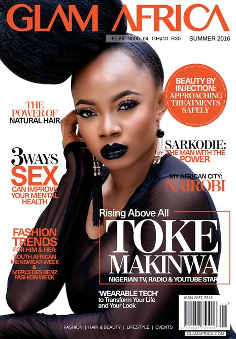 Toke Makinwa Glam Africa