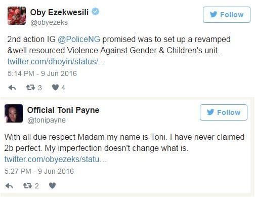 Toni Payne, Oby3