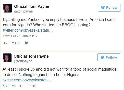 Toni Payne, Oby4