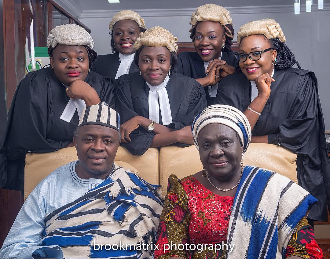 Meet Five Beautiful Nigerian SISTERS Who Are All Lawyers