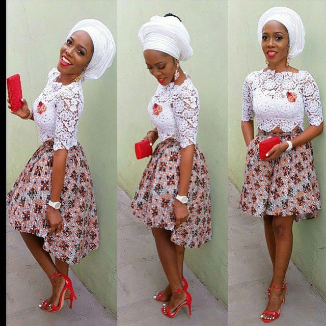 Beautiful Ankara short skirt styles | Beautiful Nigeria