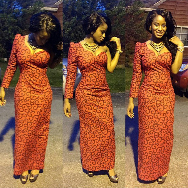 50 Of The Most Stylish Ankara Maxi Dresses Ever Created Woman Ng