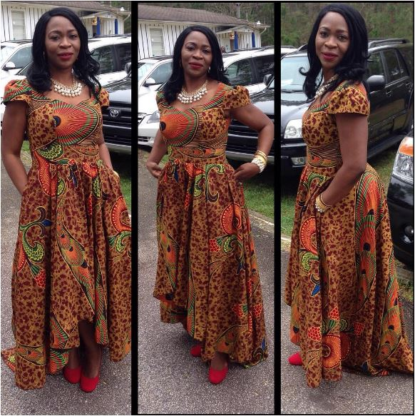 50 Of The Most Stylish Ankara Maxi Dresses Ever Created Womanng