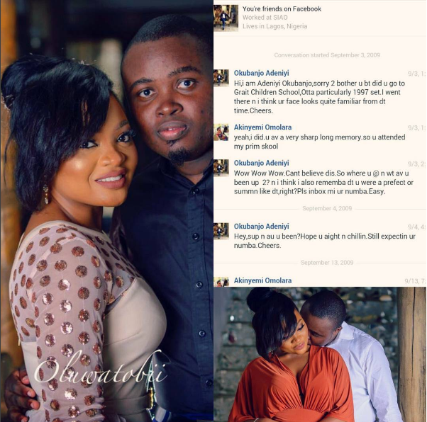 Excitement-As-Nigerians-Who-Were-Primary-School-Classmates-Get-Married-Their-First-Chat-2