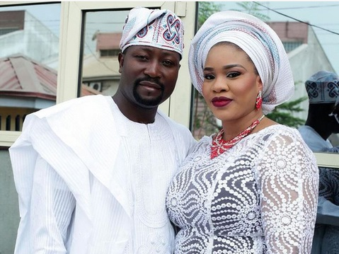 Image result for mosun filani and her husband
